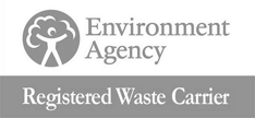 Enviroment Agency Registered Waste Carrier Accreditations Logo