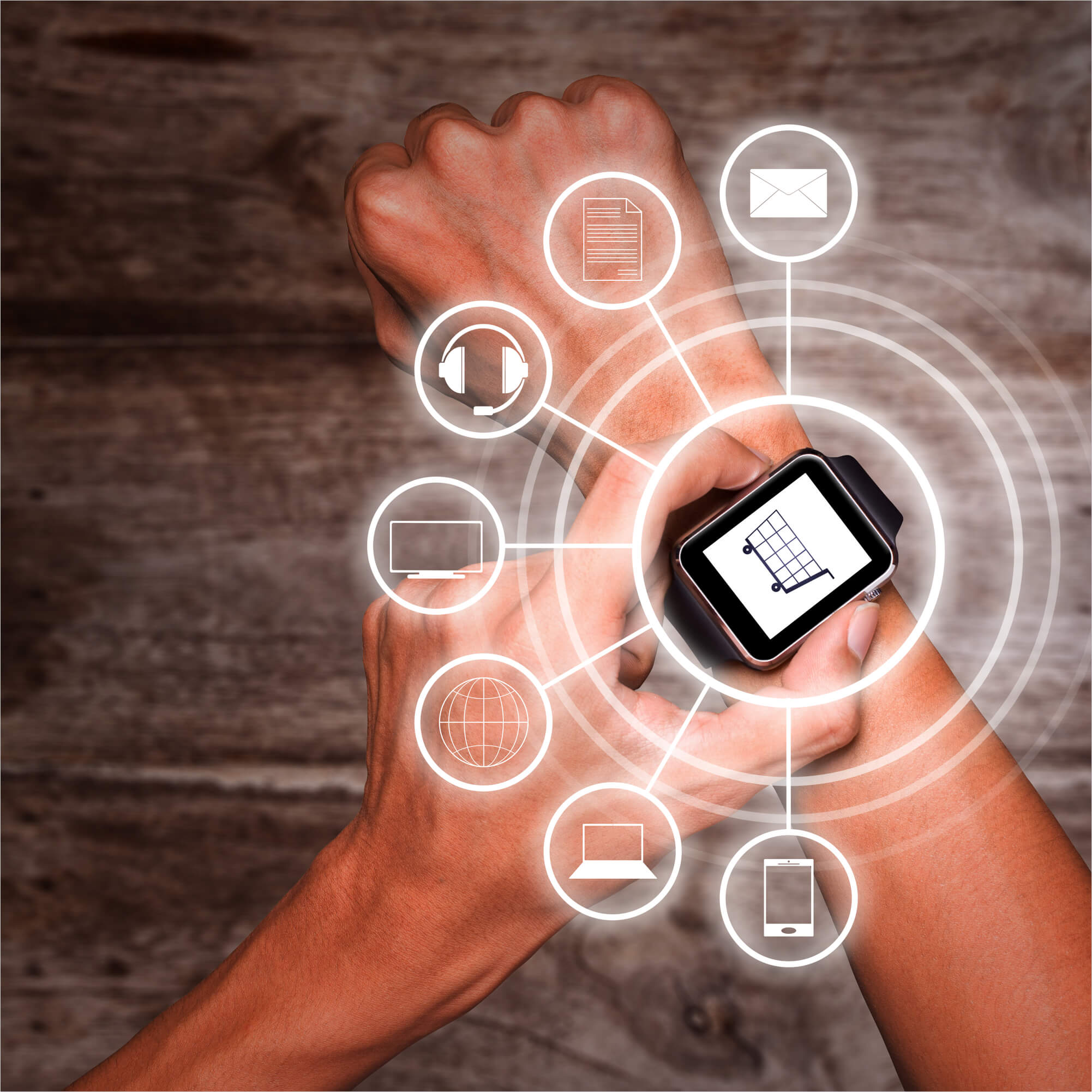 Smart watch image for Enterprise Solutions
