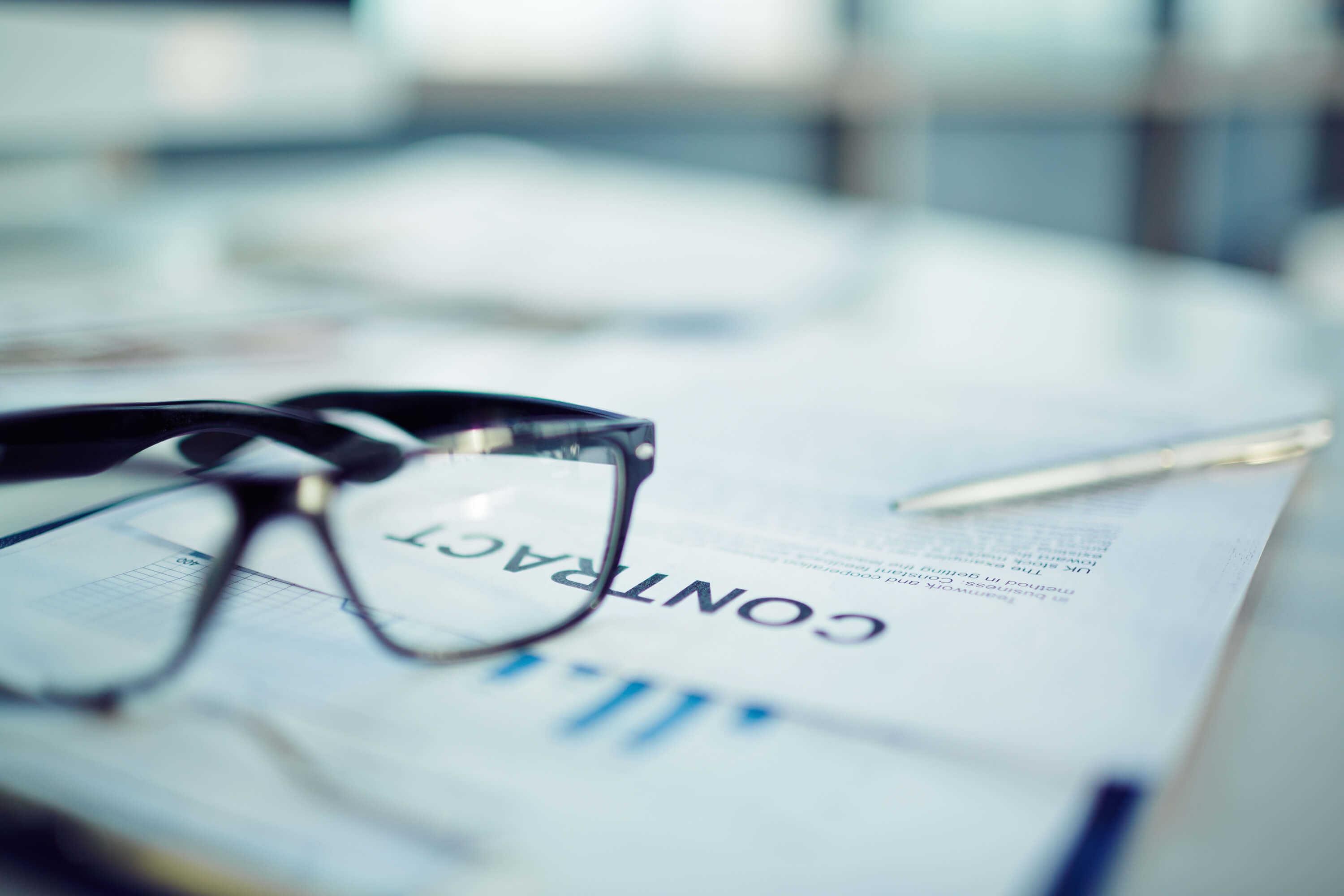 Contract and Glasses image